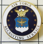 Air Force Recruiting Service badge