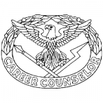 Army Career Counselor identification badge