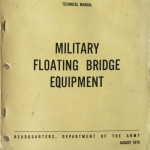 Manual Floating bridge equiptment