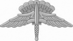 Military Freefall Parachutist badge - Basic