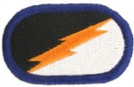 Flash / Ovál  82nd Aviation Regiment 1st Bn