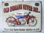 Cedule Old Indians Never Die SFT-CABI-38