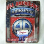 Cedule 82nd Airborne Div. All Americans HW-ARMY-12