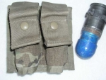 Sumka MOLLE M203/40mm double Multicam