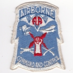82. Airborne Command and Control nášivka