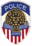 City of Louisville Police nášivka