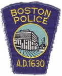 Boston Police nášivka