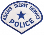 Adams Secret Service Police nášivka