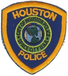 Houston Police nášivka