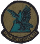 17. Tactical Fighter Squadron nášivka