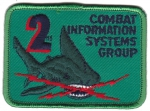 2. Combat Information Systems Group nášivka