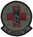 12. Medical Squadron nášivka