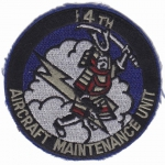 14. Aircraft Maintenance Unit nášivka