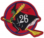26. Fighter Squadron nášivka