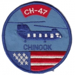 295. Aviation Company Chinook nášivka