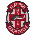 FLATIRON Crash-Rescue nášivka