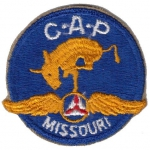 Civil Air Patrol Missouri nášivka