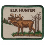 Hunter Elk nášivka