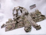 Tactical assault pouch Molle Multicam