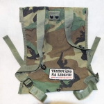 Plate carrier Molle Woodland