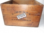Bedna od trhavin 1.V Liberty Explosives