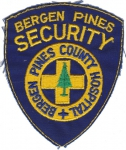 Bergen Pines Security nášivka